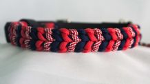 Cheeky Rascals Collar - Red/Candy Cane/Midnight Blue